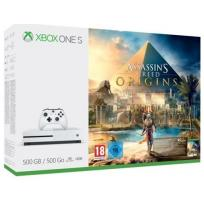 Microsoft Xbox One S 500GB+Assassin's Creed: Origins+6M Live Gold